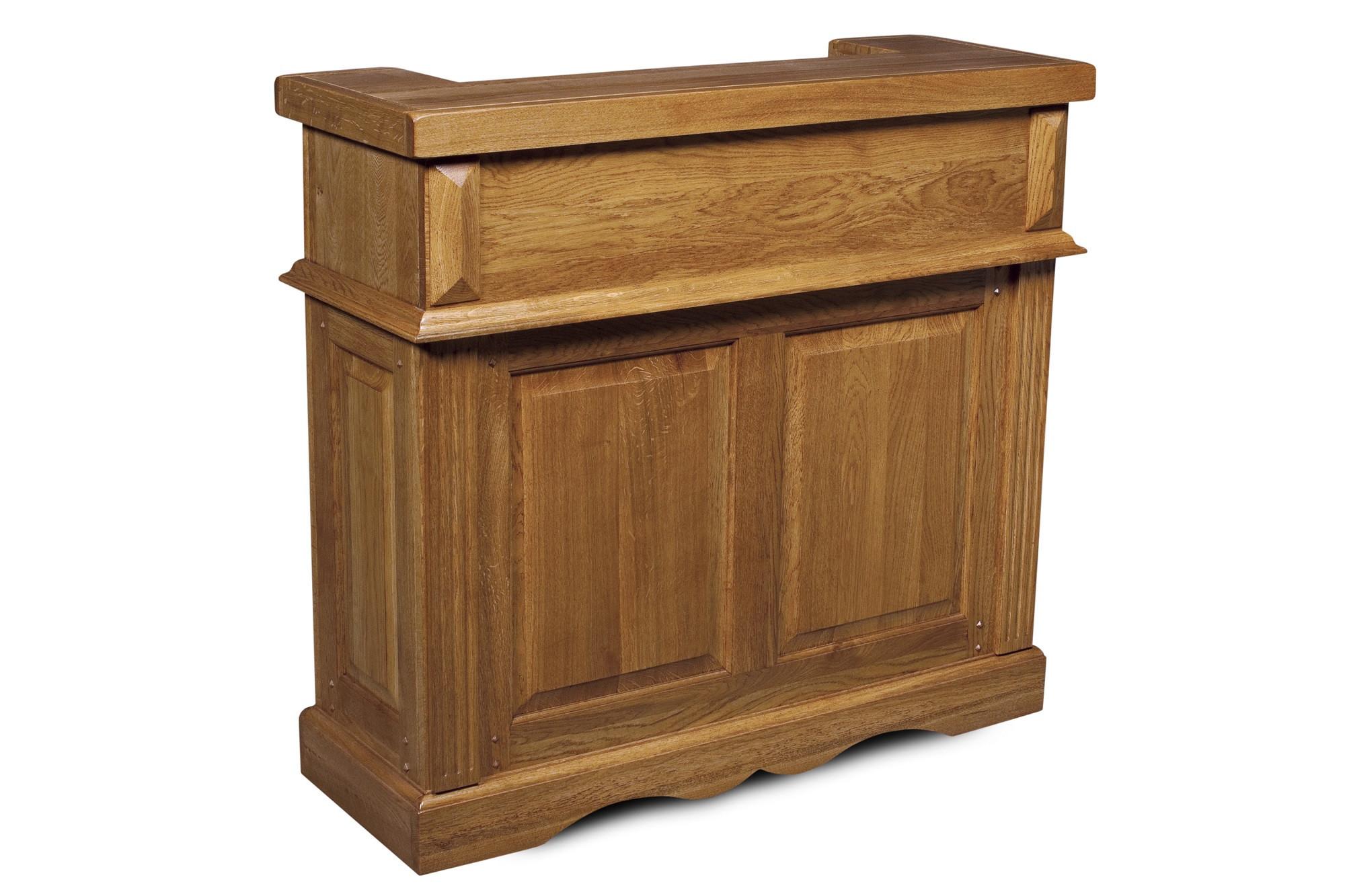 bar en bois massif la bresse hellin. Black Bedroom Furniture Sets. Home Design Ideas