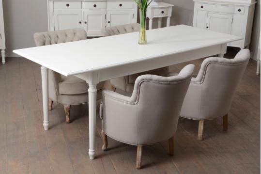 Table de salle à manger extensible Agatha