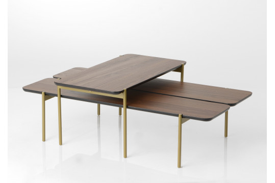Lot de 2 tables basses OSVALD