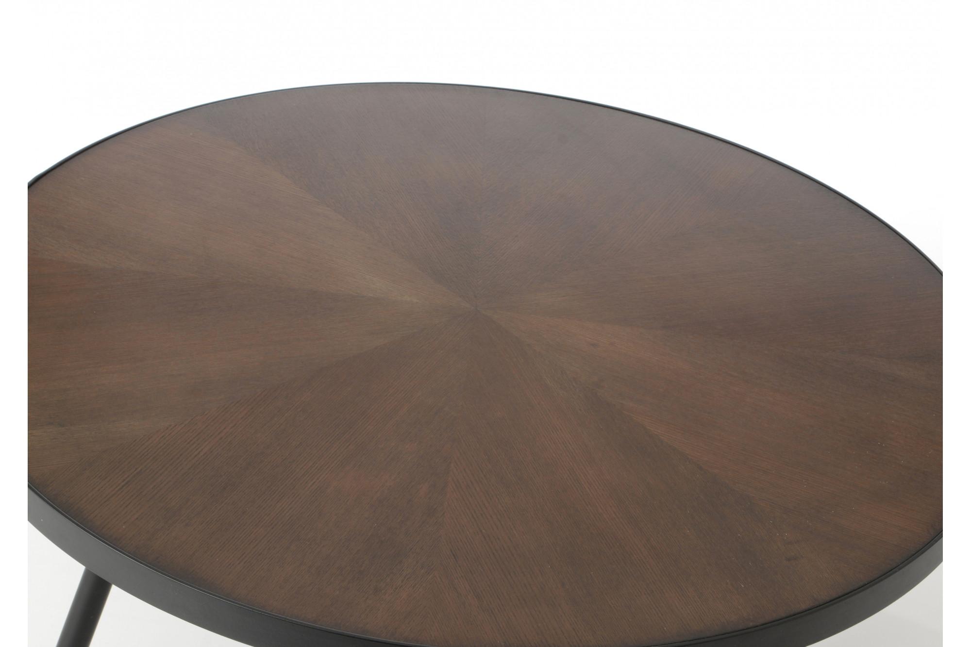 Table basse ronde grand mod le hoffman hellin - Modele table basse ...