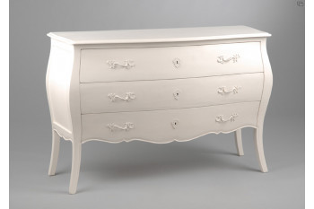 Commode blanche Muriane