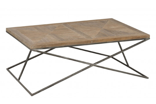 TABLE BASSE BOIS METAL KORSA