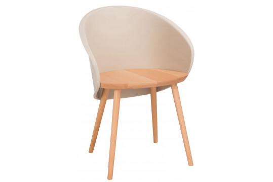 Lot de 2 chaises en bois PEREZ