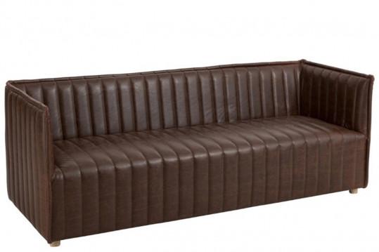 Canapé en cuir WARREN