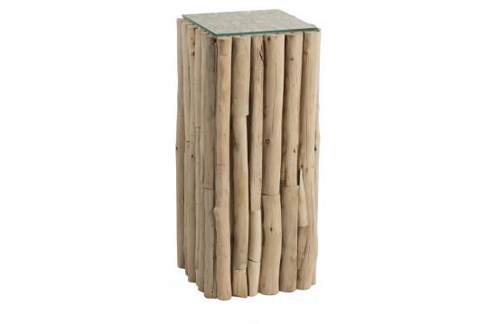 Bout de canapé en bois flotté NOE
