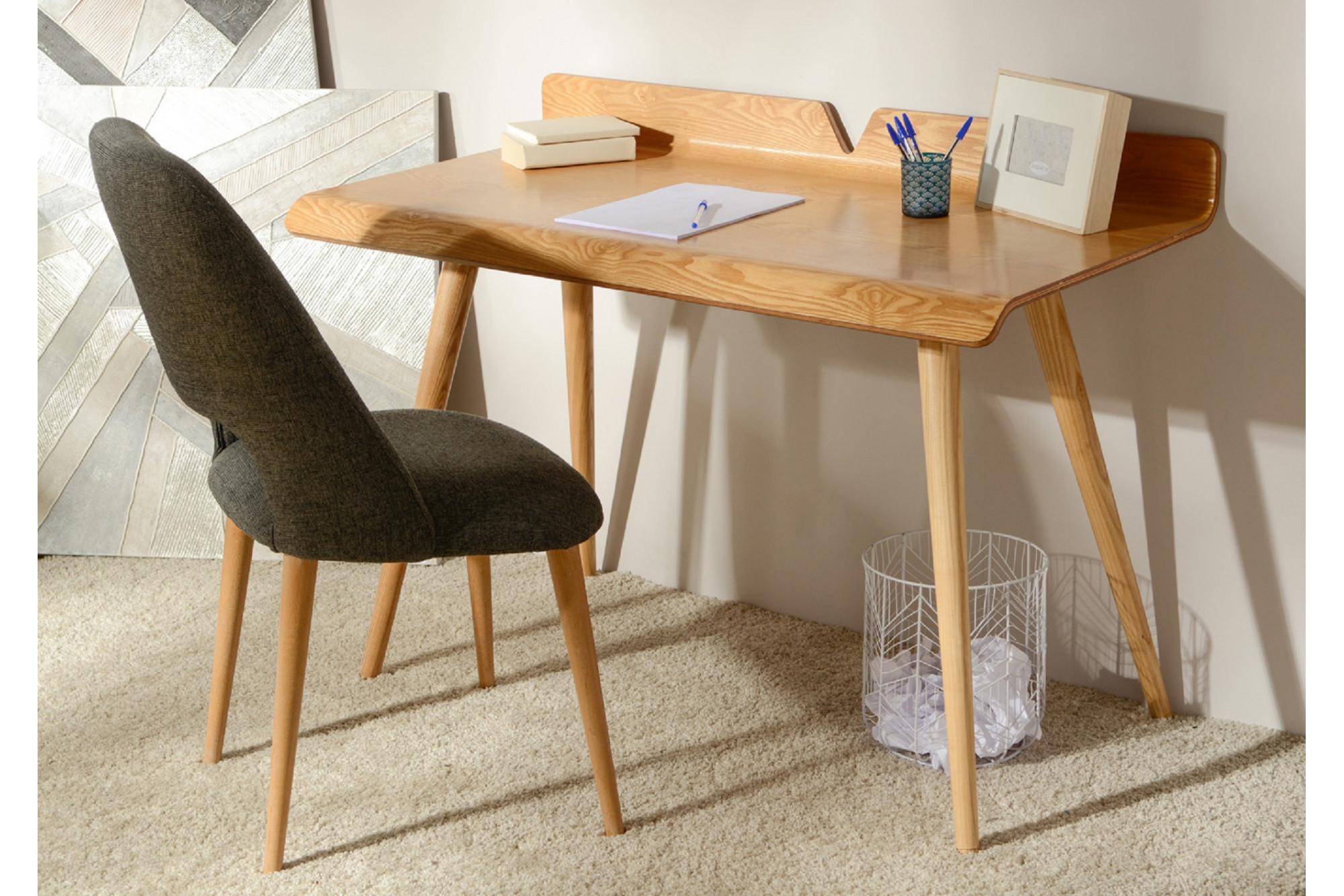 Bureau moderne en bois 120 cm hellin