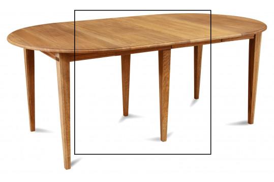 Lot de 2 allonges + 2 pieds fuseau pour la table 9082