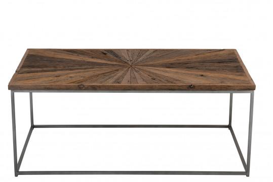 Table basse en bois et métal - SHINE