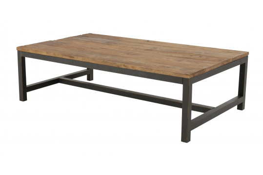 Table basse bois et métal - AGED