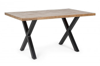 Table en bois et pieds métal - ARDEN