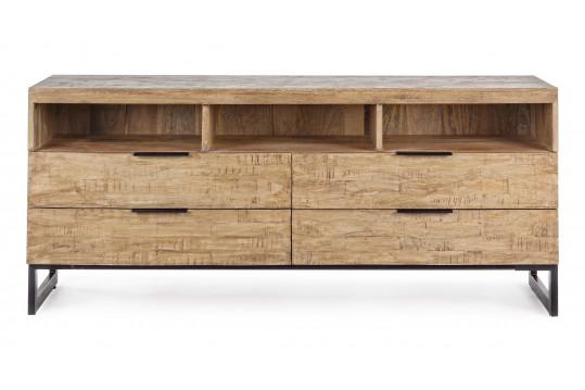 Meuble TV en bois et métal - ARDEN