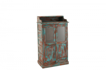 Armoire  vitrée orientale en bois - SALMA