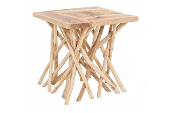 Table basse en teck - BAYONA