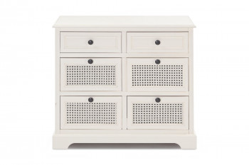 Commode 6 tiroirs - ANABEL