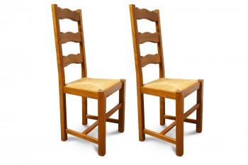 Chaises en Hêtre - Olga (Lot de 2)