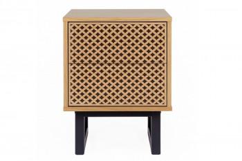 Table de nuit carrée en bois - NARVIK