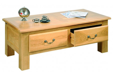 Table Basse Chene Massif Meuble Doccasion Hellin