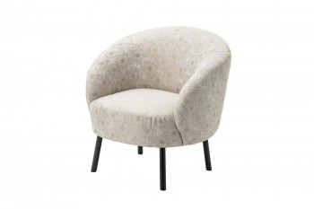 Fauteuil crapaud jacquard GOLDIE