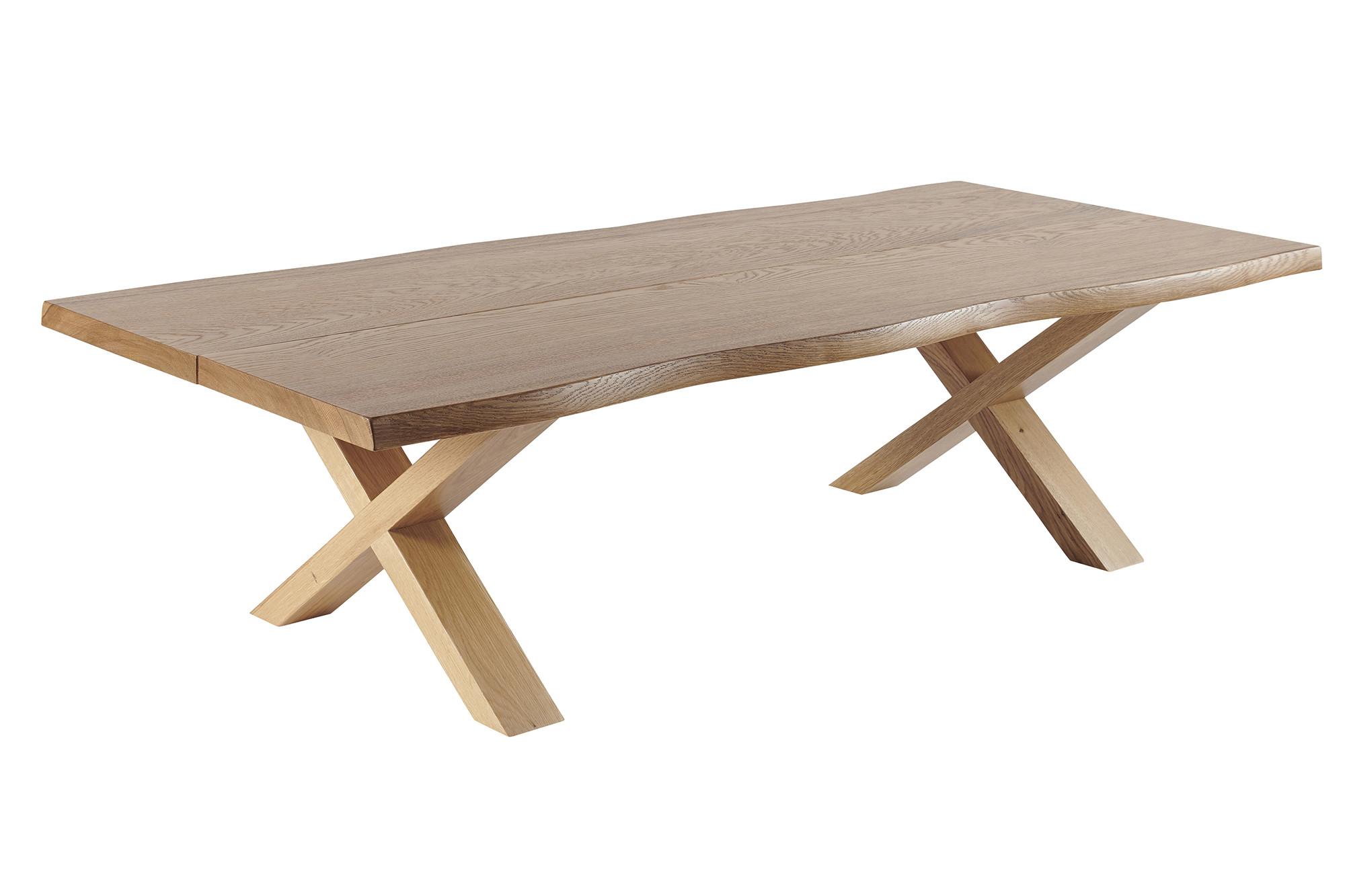 Table Basse En Bois Massif Tronc D Arbre Ganak Hellin