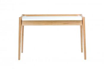 Bureau en bois clair et blanc - PARISTECH