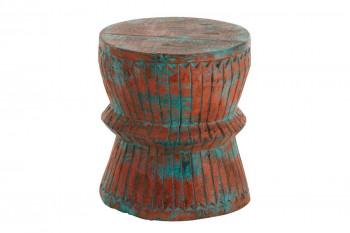 Tabouret oriental en bois - SALMA