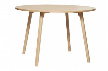 Table à manger ronde en chêne D115 - LONE