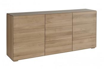 Buffet en bois massif avec trois portes Filigrame