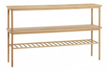 Console nordique en bois de chêne - SAFFI