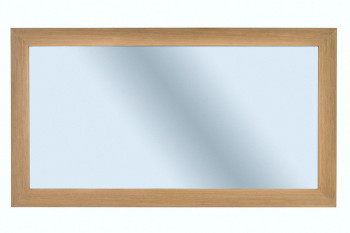 Miroir de salle de bain en chêne naturel - CAPRI