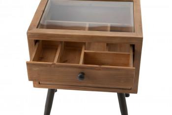 Zoom sur le tiroir à compartiments