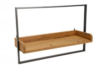 Étagère en bois et métal L60 - DINA