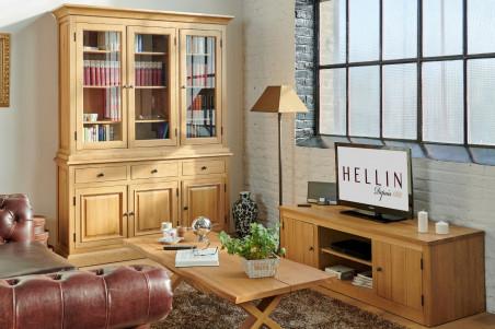 mise en scène meuble télé bas Victoria