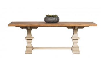 Table rectangulaire en bois piétement d'Abbaye L220 - CAPUCINE