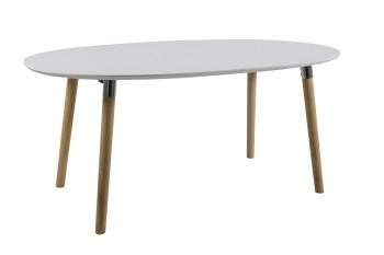 OCCASION Table de salle à manger extensible SVEN