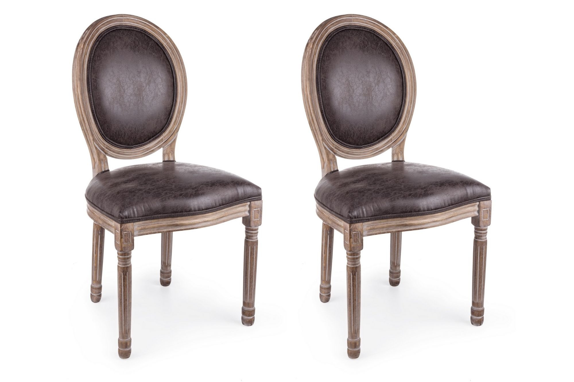 Lot de deux chaises victoriennes