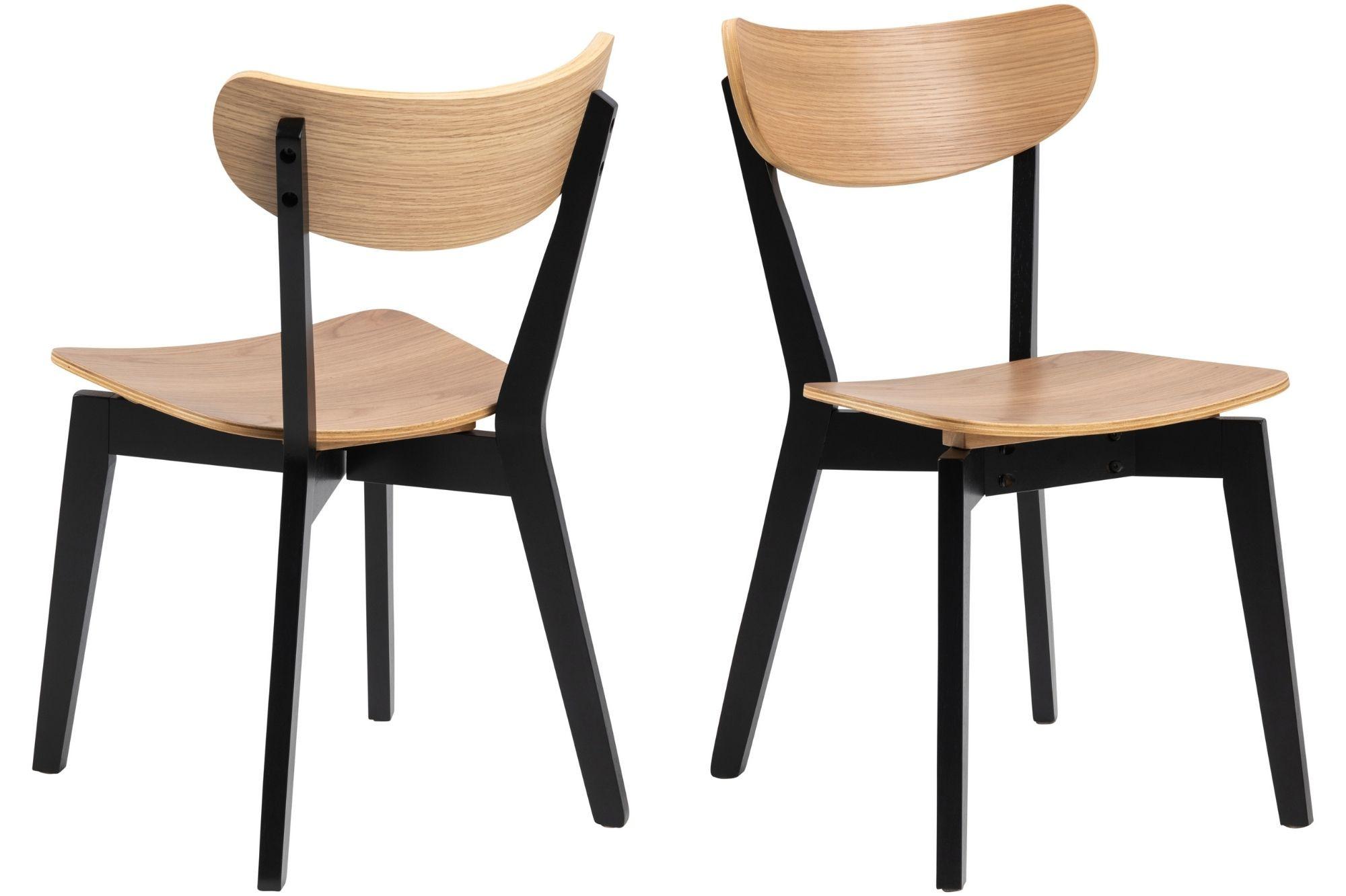 lot de 2 chaise en chêne
