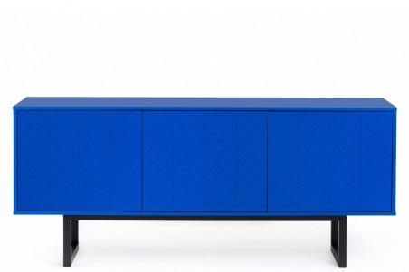 buffet bas moderne coloris bleu