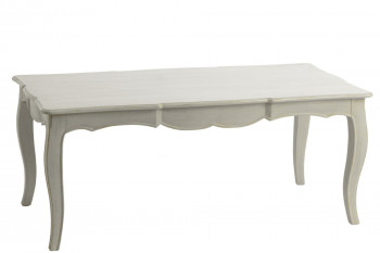 Table basse rectangulaire style baroque