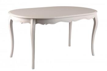 Table ovale pour 6 personnes en bois et de style baroque