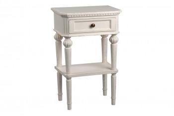 Table de nuit baroque avec tiroir