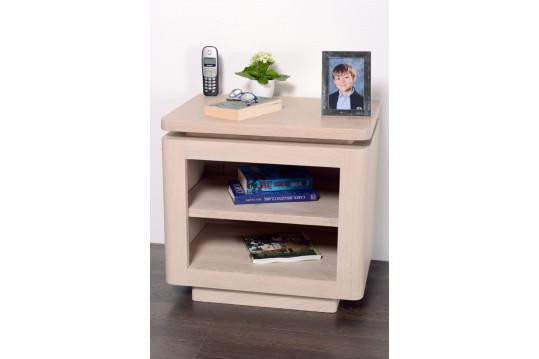 Table de chevet ATLANTIQUE - bois chêne blanchi