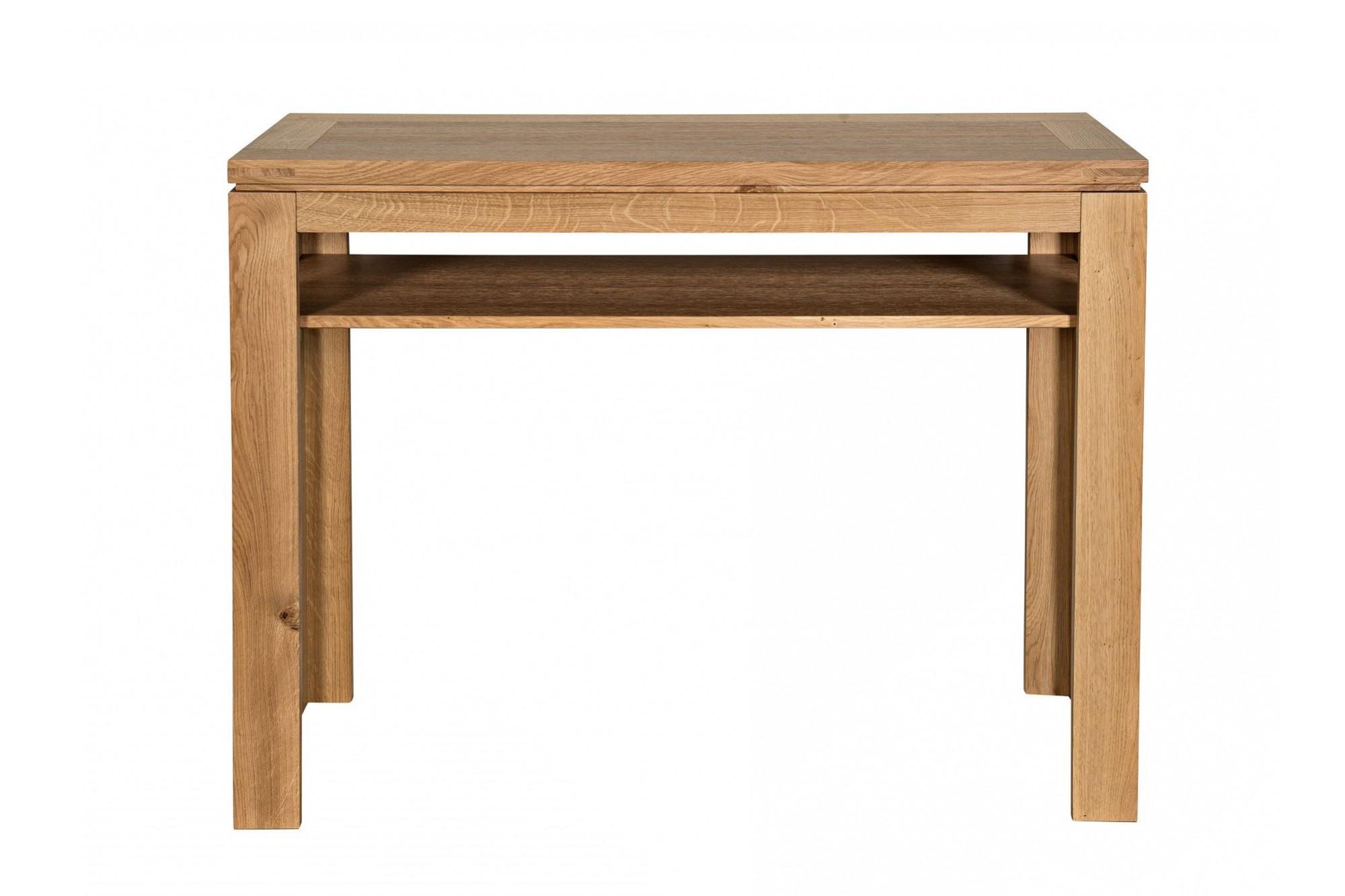 Console Et Table D Appoint En Chene Clair Hellin