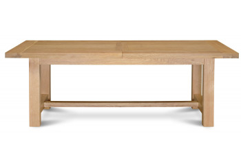 Table extensible  MANSART - bois chêne clair massif
