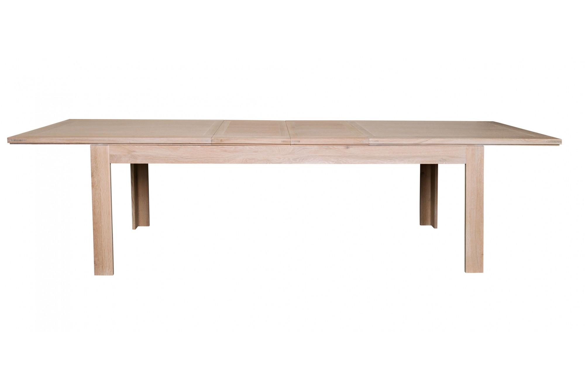 extensible allonges 2 centrales Table rectangulaire Hellin SVpUzqGM