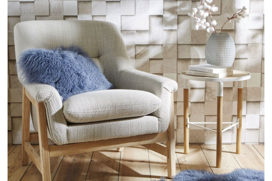 FAUTEUIL OSLO, structure bois massif