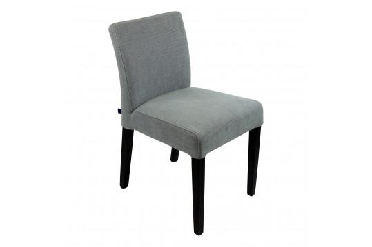 Chaise tissu gris Slim