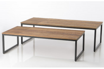 Lot de 2 tables basses Marty